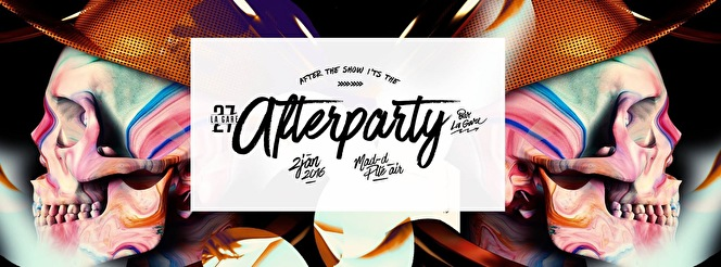 After the Show is the Afterparty (flyer)
