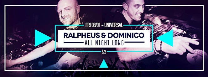 Ralpheus & Dominico All Night Long (flyer)