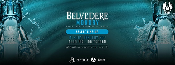 Belvedere Monday (flyer)