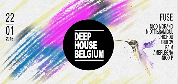 Deep House Belgium (flyer)