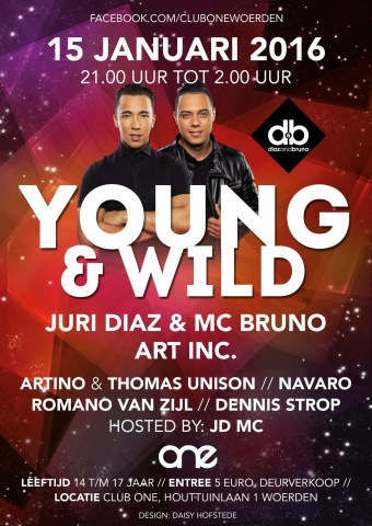 Young & Wild (flyer)