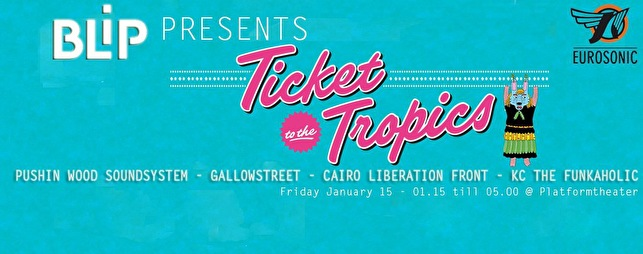 Ticket to the Tropics (flyer)