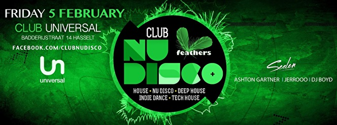 Club Nu Disco (flyer)