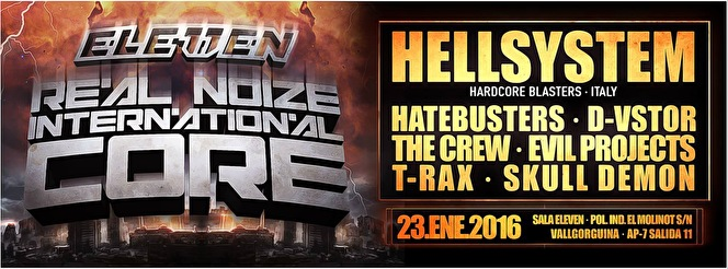 Real Noize International Core (flyer)