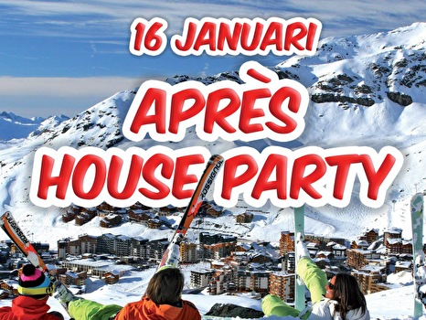 Apres house party (flyer)