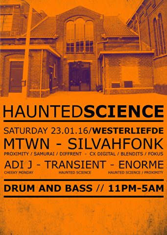 Haunted Science (flyer)