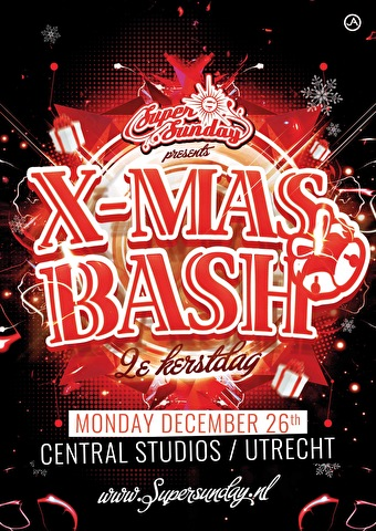 Super Sunday X-mas bash (flyer)