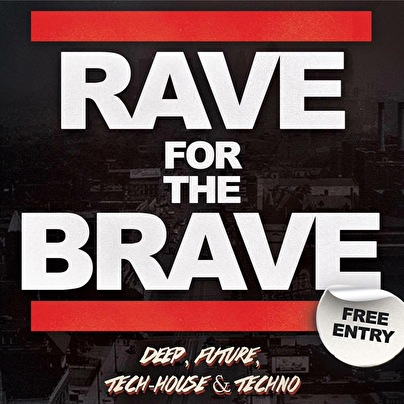 Rave For The Brave (flyer)