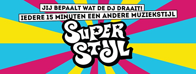 Superstijl Afterparty (flyer)