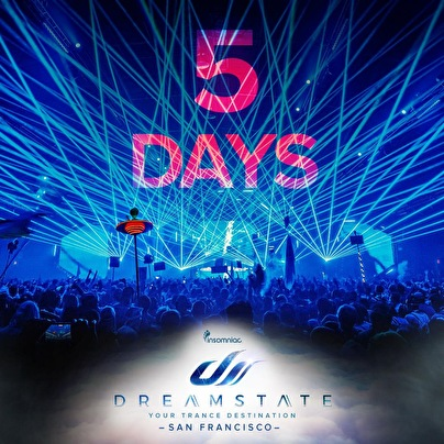 Dreamstate SF (flyer)