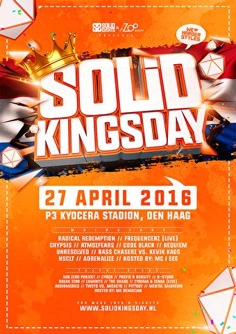 Solid Kingsday (flyer)