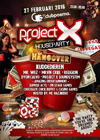 Project Houseparty (flyer)