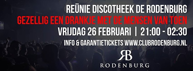 Reunie in de Rodenburg (flyer)