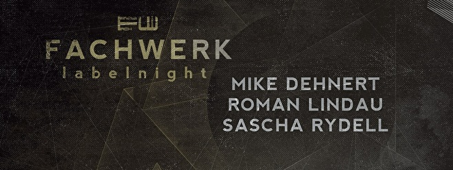 Fachwerk Label Night (flyer)