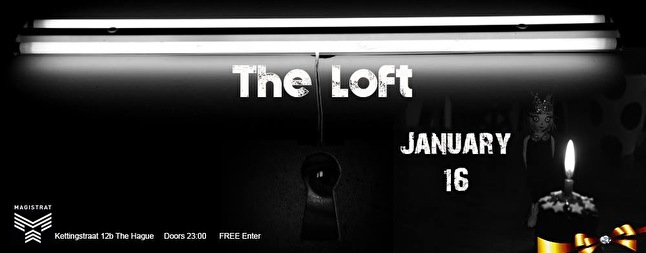 The Loft invites to Golden B-day Party (flyer)