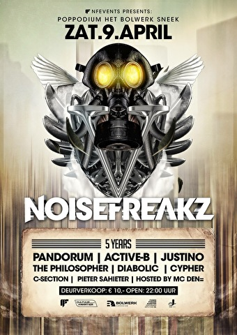 Noisefreakz (flyer)