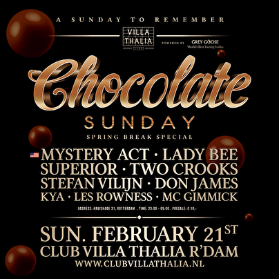 Chocolate Sunday (flyer)