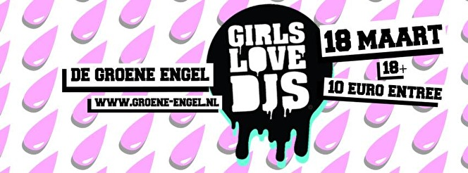 Girls Love Djs (flyer)