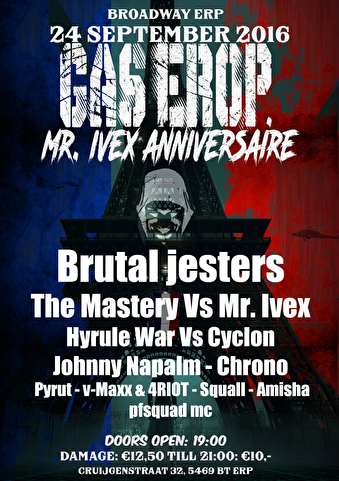 Gas Erop! (flyer)