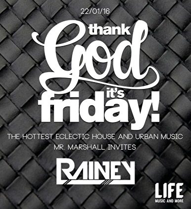 Thank God it's Friday! (flyer)