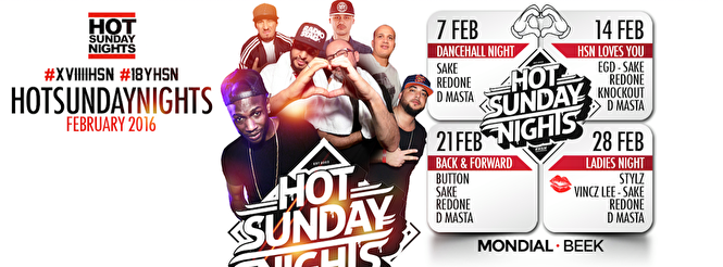 Hot sunday night (flyer)