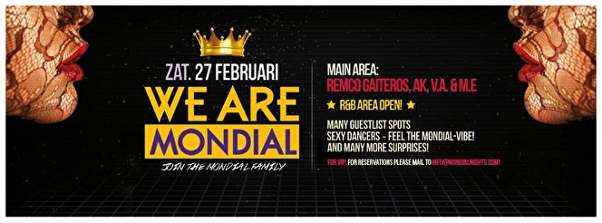 We are Mondial (flyer)