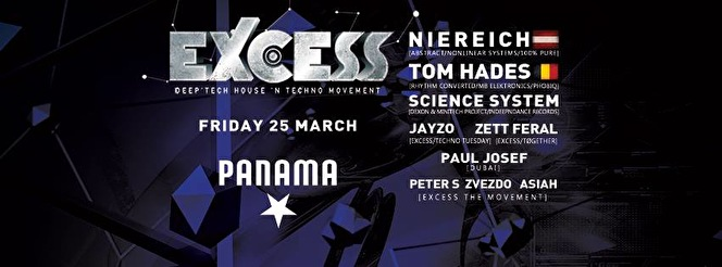 Excess The Movement XL (flyer)