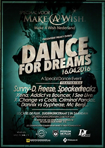 Dance for Dreams (flyer)