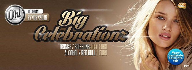 Big Celebrationz (flyer)