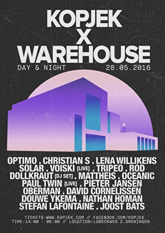 KopjeK × Warehouse (flyer)