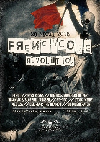 Frenchcore Revolution (flyer)