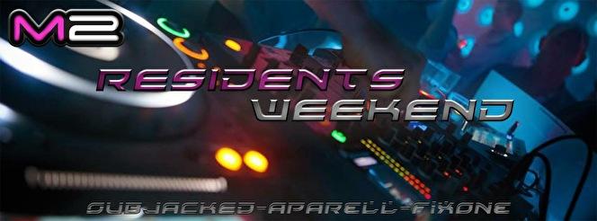M2 Residents Weekend (flyer)