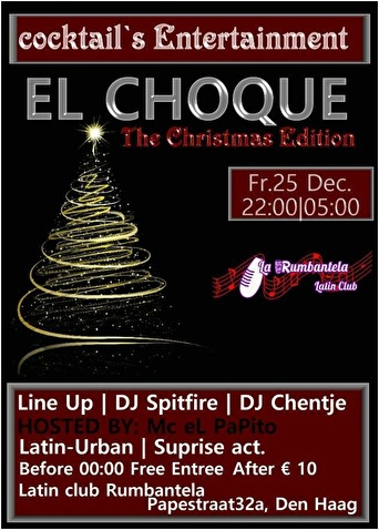 El Choque Latin (flyer)