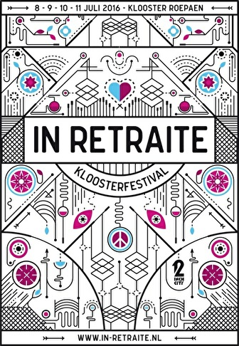 In Retraite Kloosterfestival (flyer)