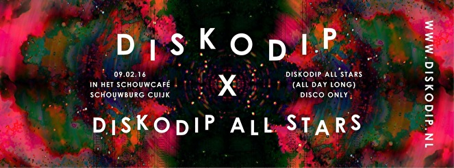 Diskodip × Diskodip All Stars (flyer)