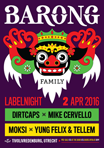 Barong Family Labelnight (flyer)