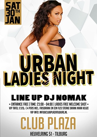 Urban Ladies Night (flyer)
