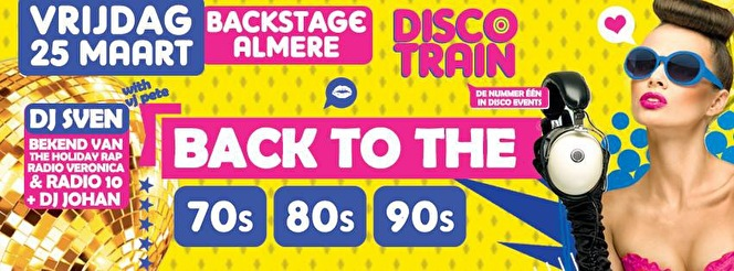Disco-Train (flyer)