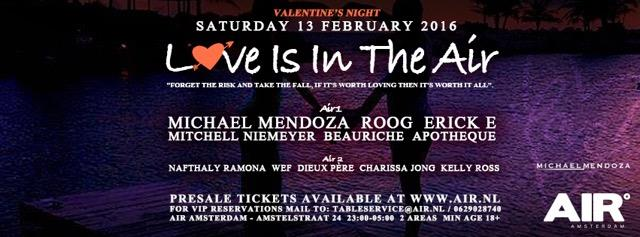 Love is in the AIR (flyer)