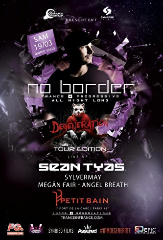 No Border presents (flyer)