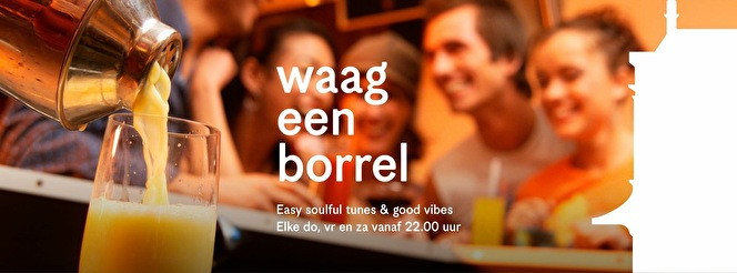 Waag een borrel (flyer)