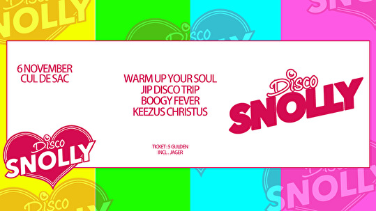 Disco Snolly (flyer)
