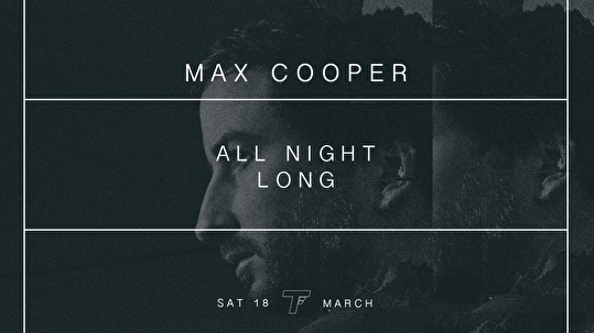 Max Cooper All Night Long (flyer)
