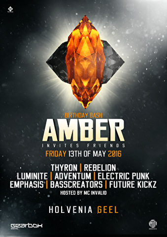 Amber invites friends (flyer)