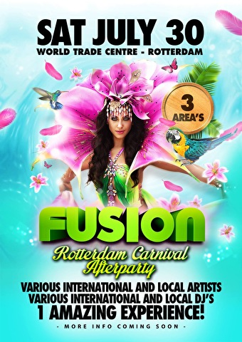 Fusion Rotterdam Carnival Afterparty (flyer)