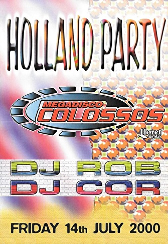 Holland Party (flyer)