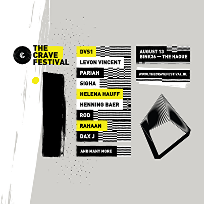 The Crave Festival (flyer)