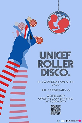 UNICEF RollerDisco (flyer)