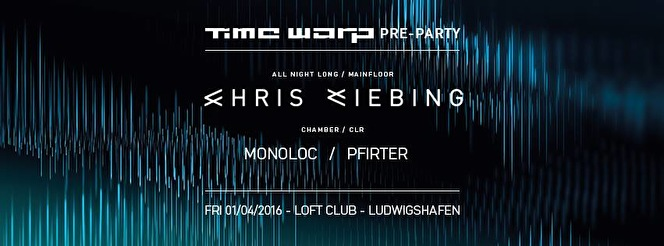 Time Warp Pre-Party (flyer)