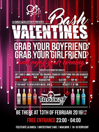 Valentines Bash (flyer)